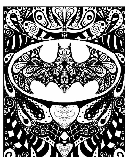 Batman Black Cool Designs White Image 4062116 By