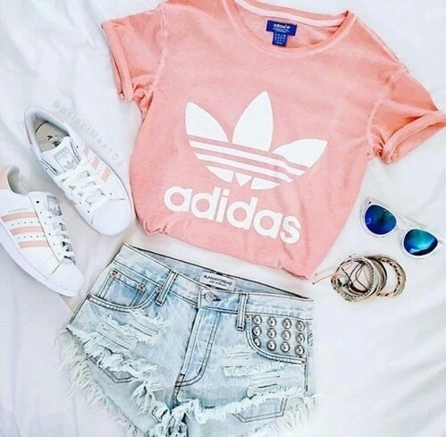 Adidas brand clothes cute fashion - image #4116731 by marine21 on Favim.com