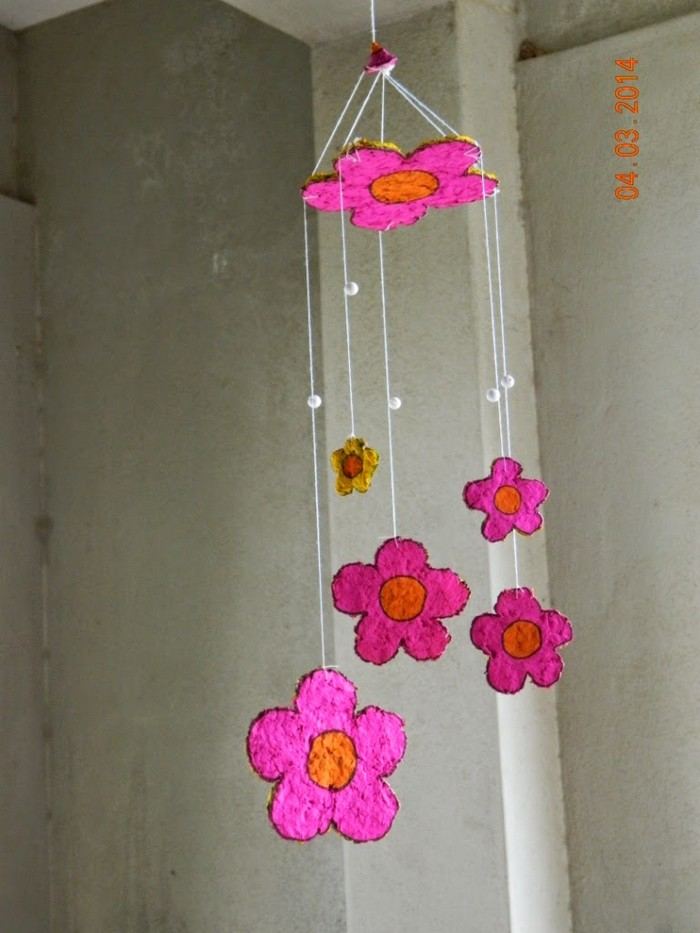 Upcycled Wind Chimes, Wind Chime Crafts, Wind Chime Projects and wind chimes
