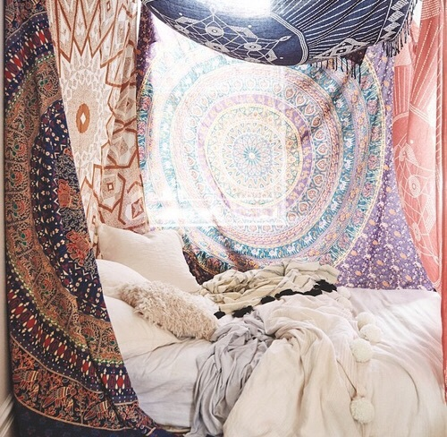 Cozy Tapestries Boho Colorful Roomdecor Image 4125826 By