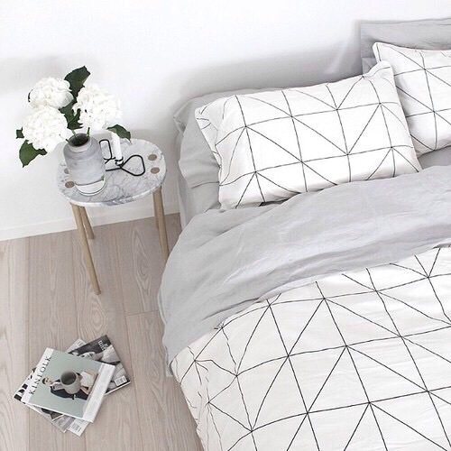 cute aesthetic white bedroom roomdecor image