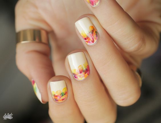 Uñas Decoradas Nails Art Flores Flowers Image 4198901