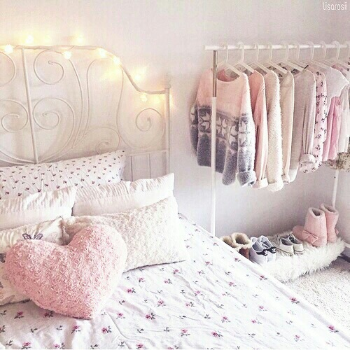 Pink Girly Bedroom Accessories: Girly, Room, White, Clothes, Pink