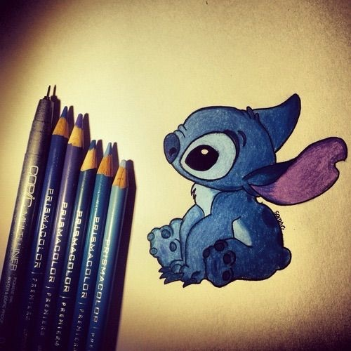 Stitch From Lilo And Stitch Drawing Image 4267691 By Lucialin