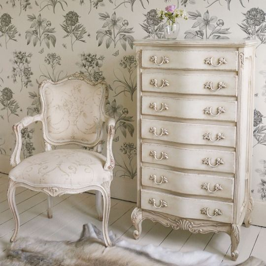 This shabby chic dresser image 4333816 by helena888 on Pretty home decor pinterest