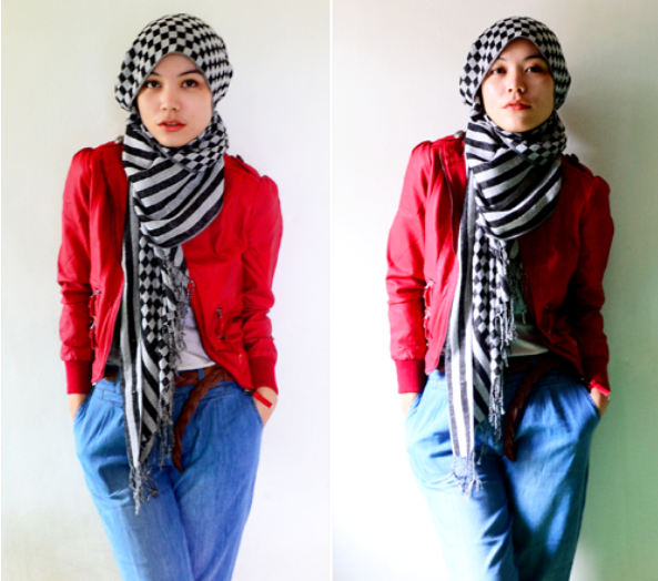 Trendy Hijab Styles Give Yourself A New Look In Hot Fashion Society Image 4419366 By