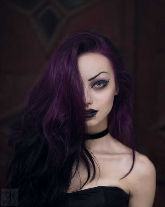 hair color dark purple hair color pictures best hair dye