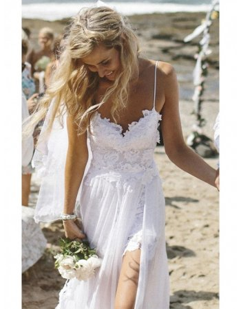 Wedding dresses beach