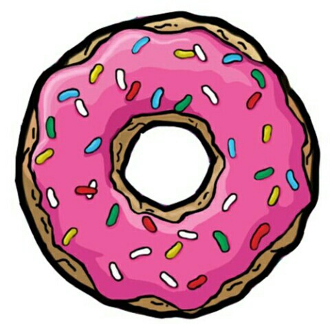 Donuts drawing - image #4661326 by Bobbym on Favim.com