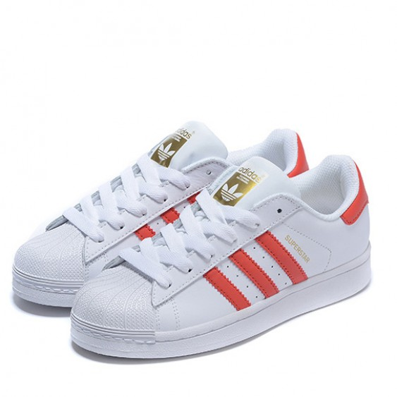 grjof Adidas Originals Superstar Sneaker Red White