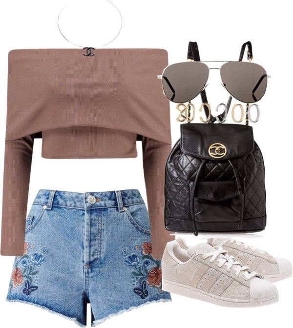 Fashion Life Style Outfits Polyvore Street Style Image 4704136 By Loren On
