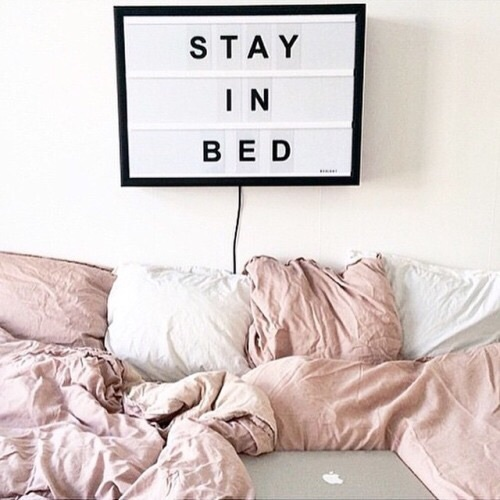 bed, cozy, goals, macbook, pillow