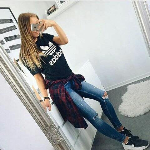 adidas, look, ootd, outfit, style