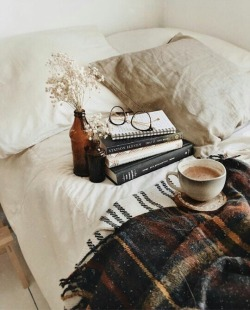 blankets, books, coffee, cozy, plaid