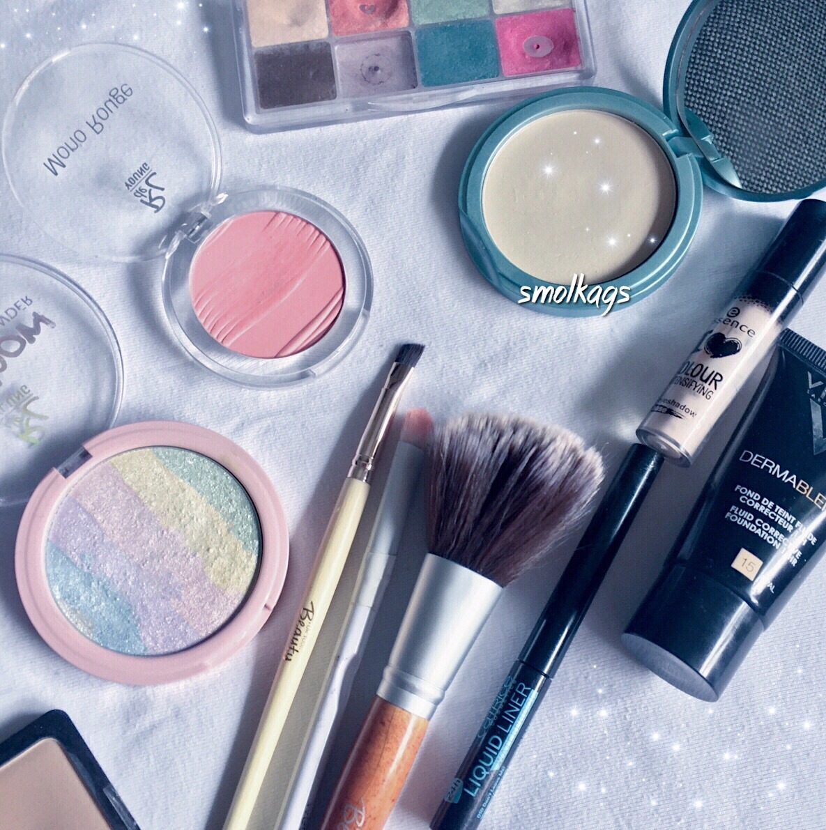 pretty, K, makeup and pastel