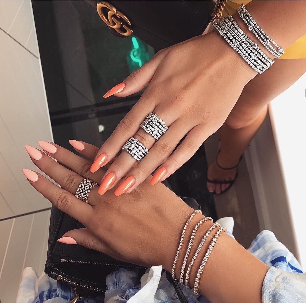 claws inspo, nails goals, girly inspo and tumblr goals