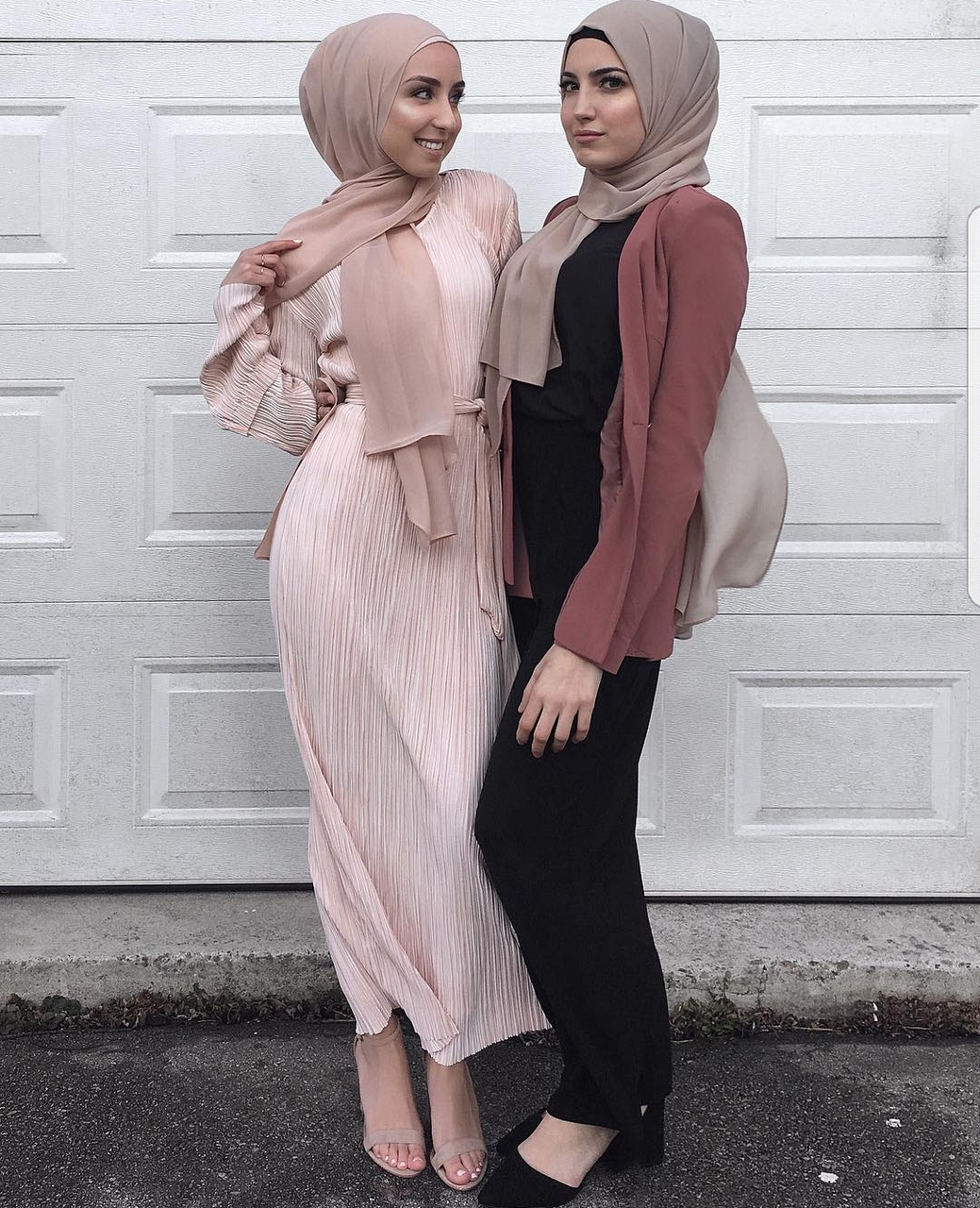 beauty, fashion, friends and hijab