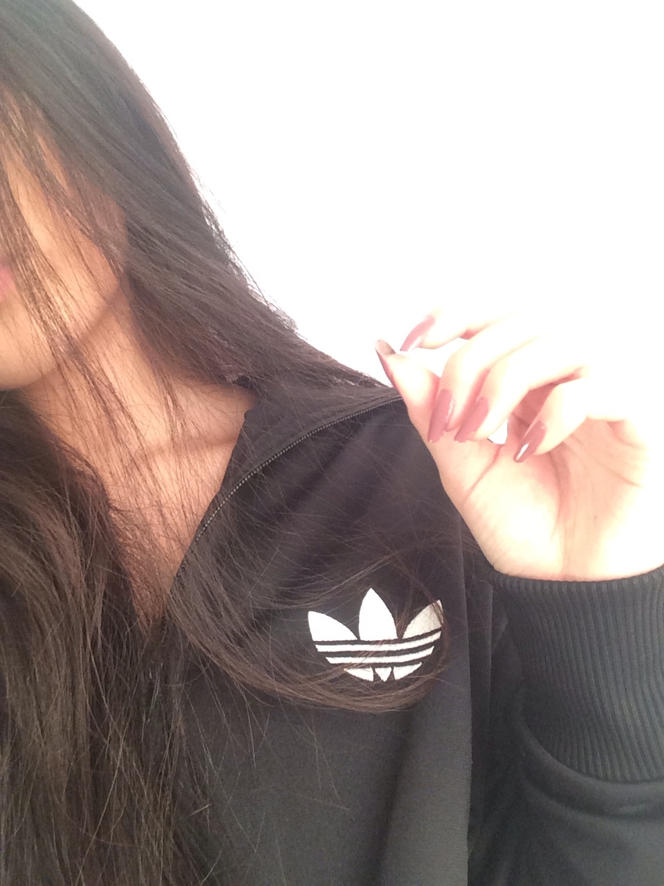 adidas, beautiful, brown hair and fit