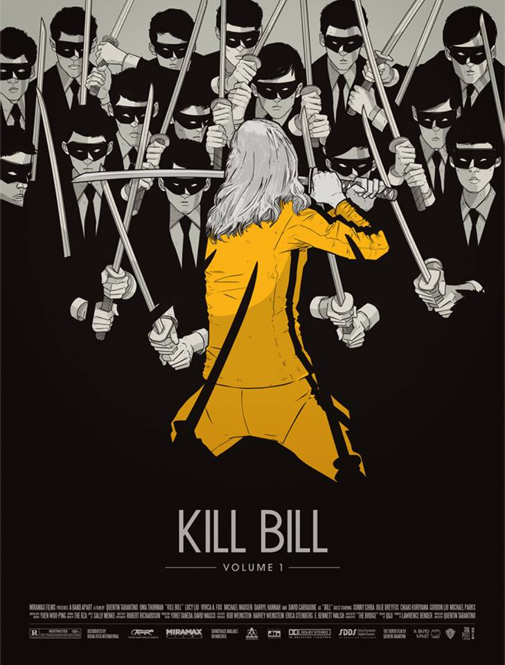 movie, tarantino, artwork and kill bill