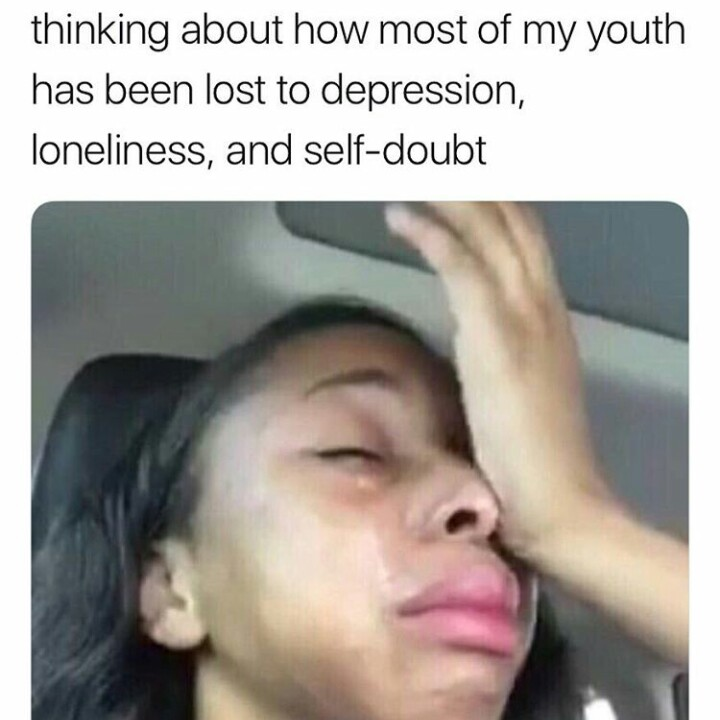 actually a cry for help, im sad, lmao and me