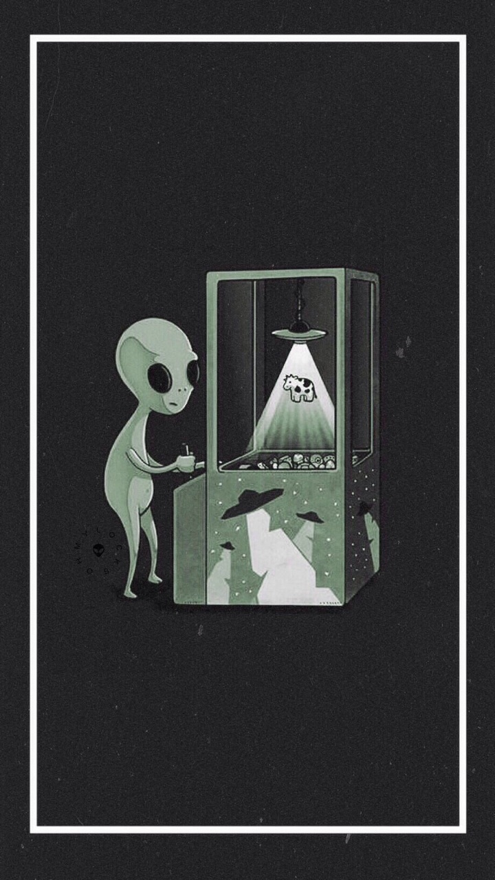 alien, background, cool and grunge