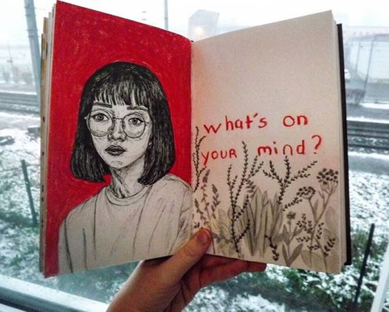 flowers, inspiration, journaling and question