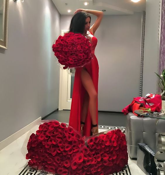 beautiful, bouquet, chic and dress