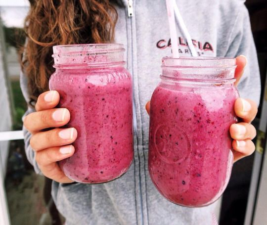 drinks, girl, healthy and pink