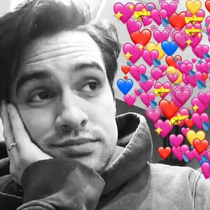 P!ATD, brendon, brendonurie and cute