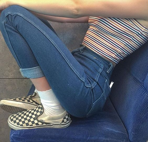 90s, checkered, fashion and stripes