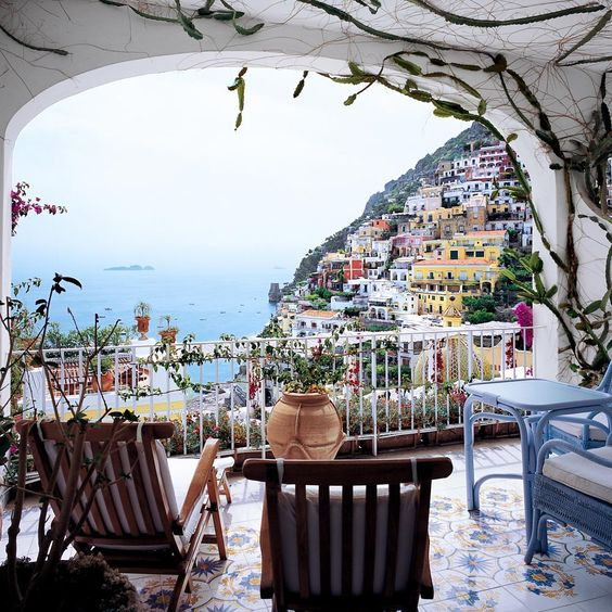 balcony, cinque terre, country and europe