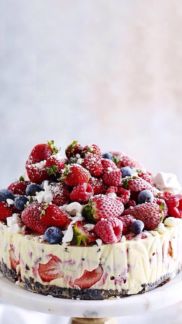 FRUiTS, aesthetic, bake and berries