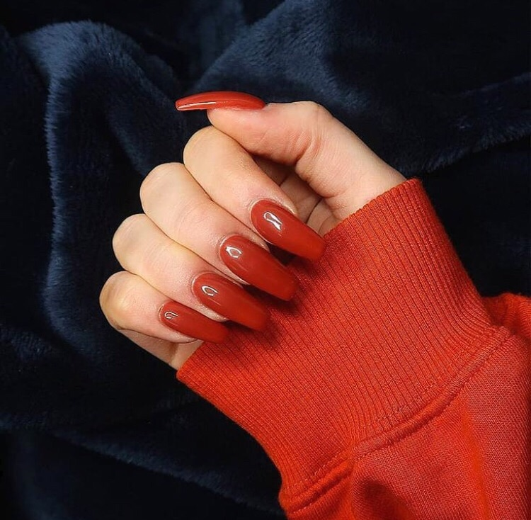 claws inspo, beauty, hands and red nails