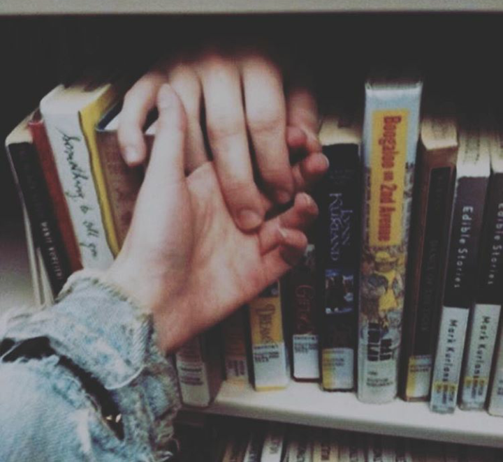 indie, boy and girl, books and love