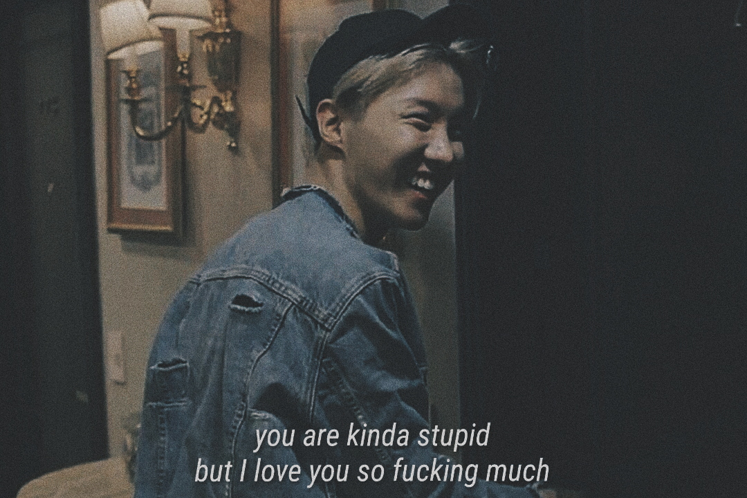 text, love, jhope and saying