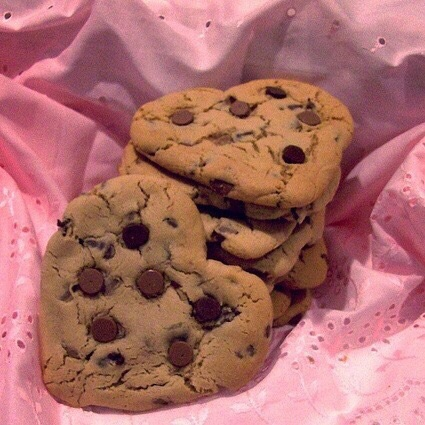 Cookies, aesthetic, american cookie and chocolate
