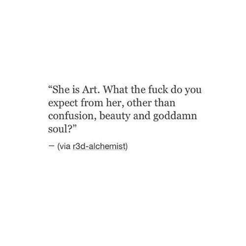 art, her, poem and poetry