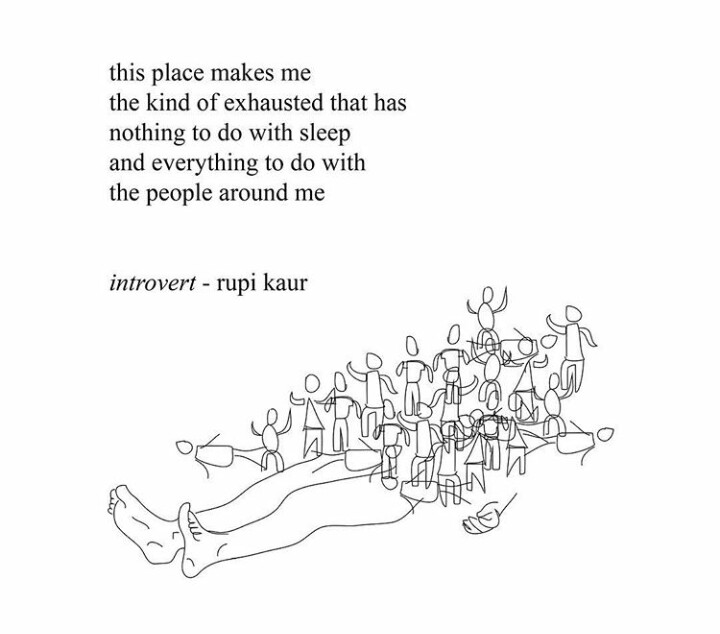 rupi kaur, tekst, exhausted and writing