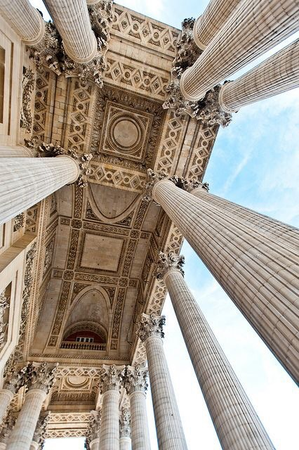 architecture, art, beautiful and columns