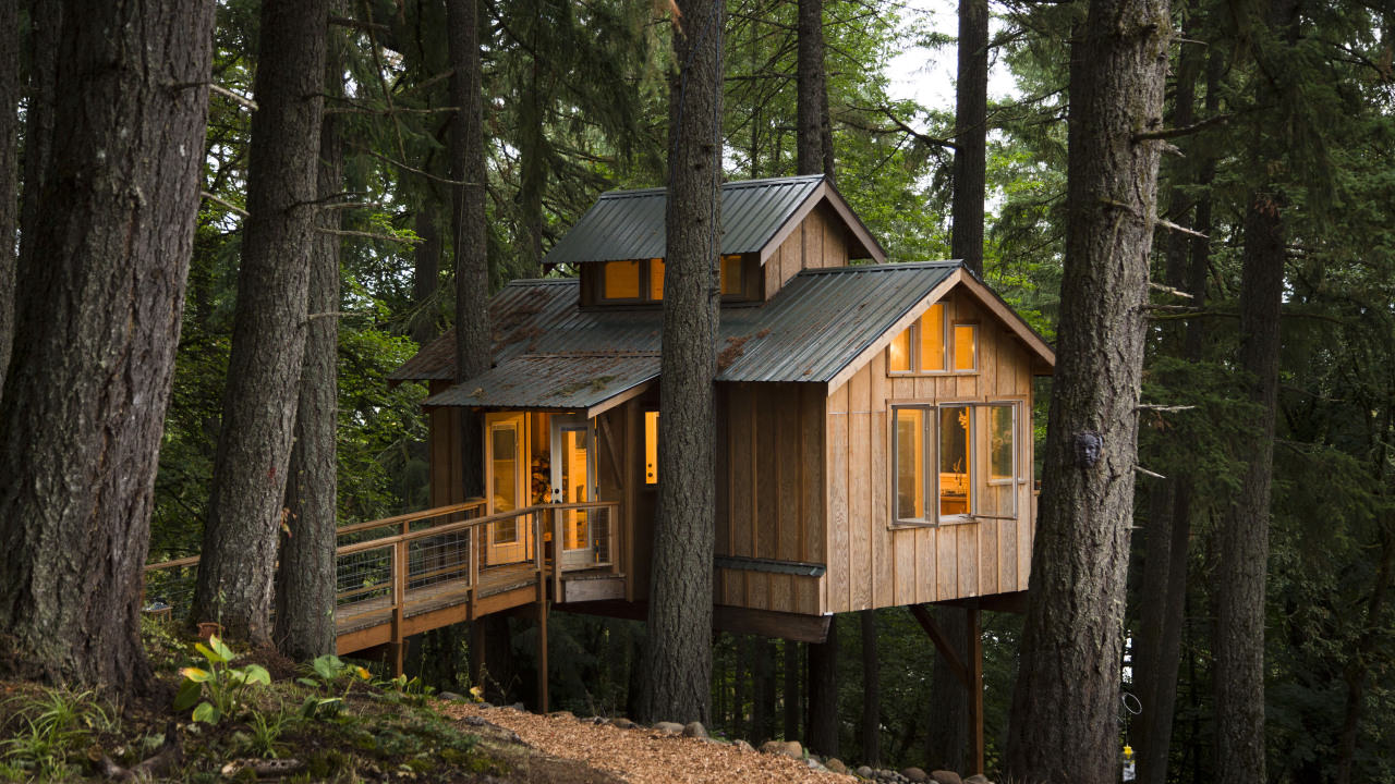 log home, architecture, log cabin and travel