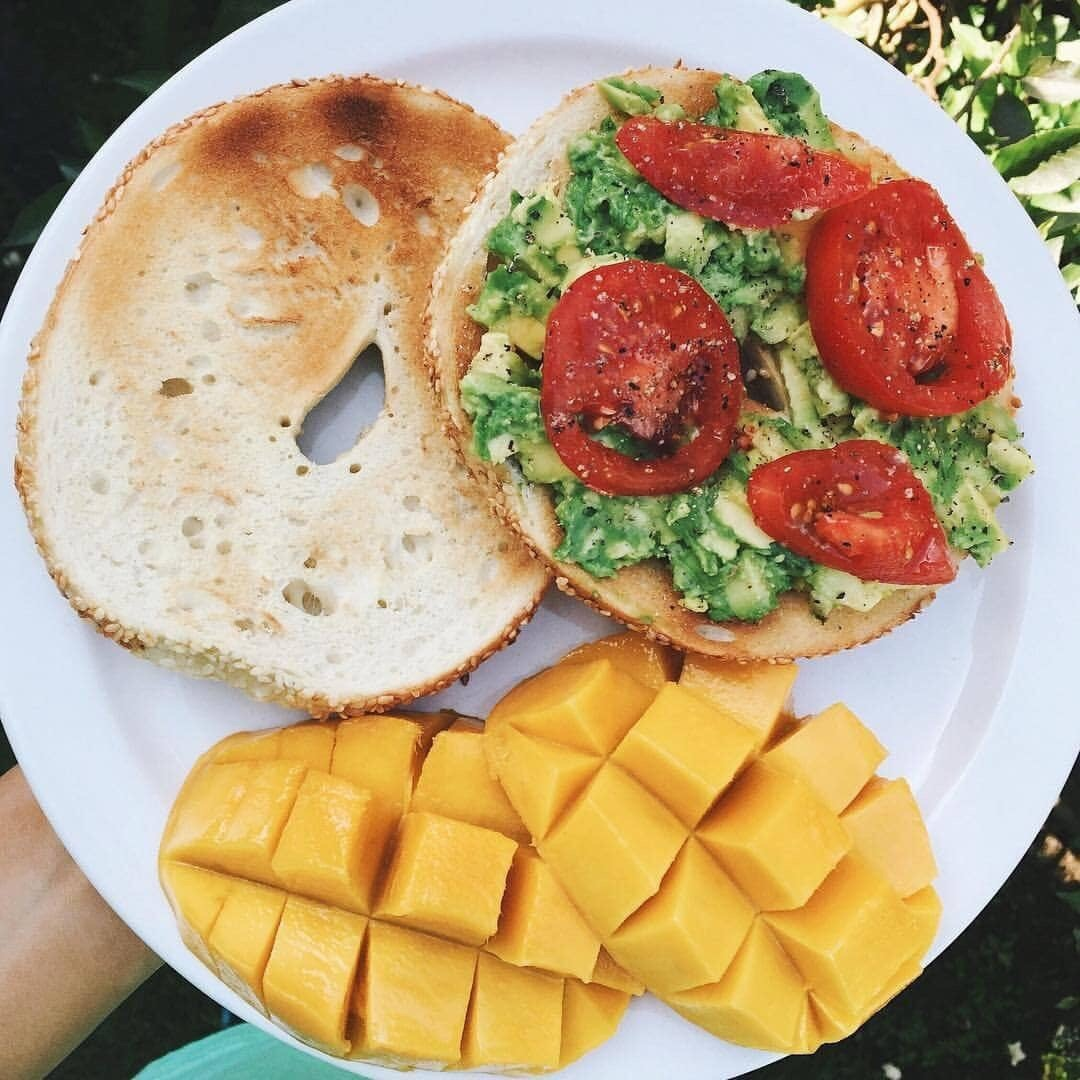 avocado, bagel, bagels and breakfast