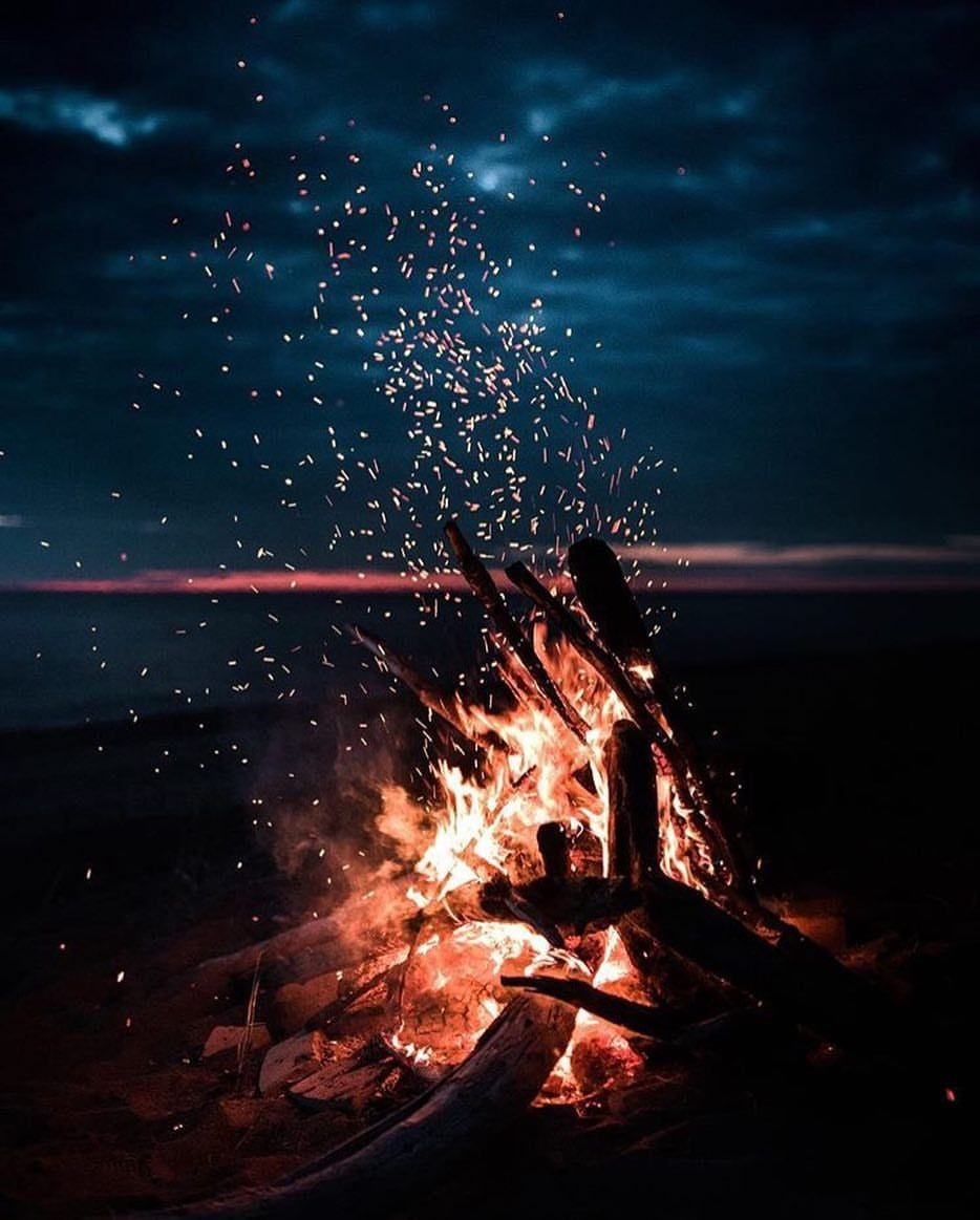 Spark, beautiful, beauty and camping