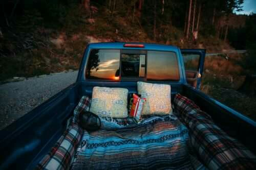 Road Trip, camping, forest and life