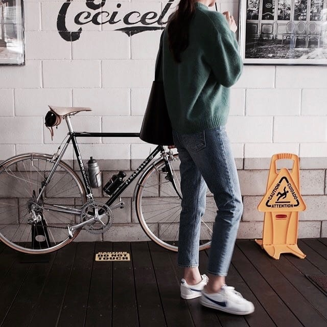 photography, indie, bicycle and girls
