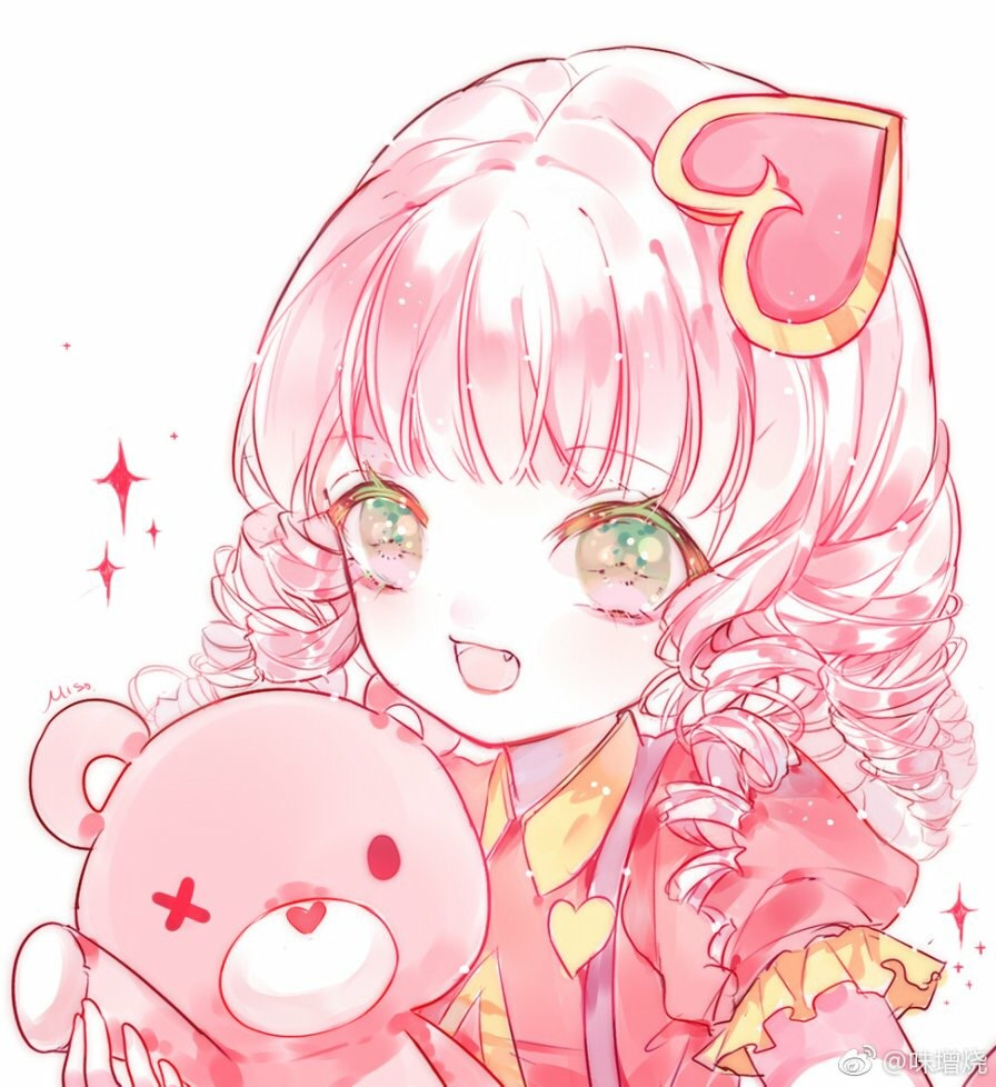 matching icon, pink, illustration and cute