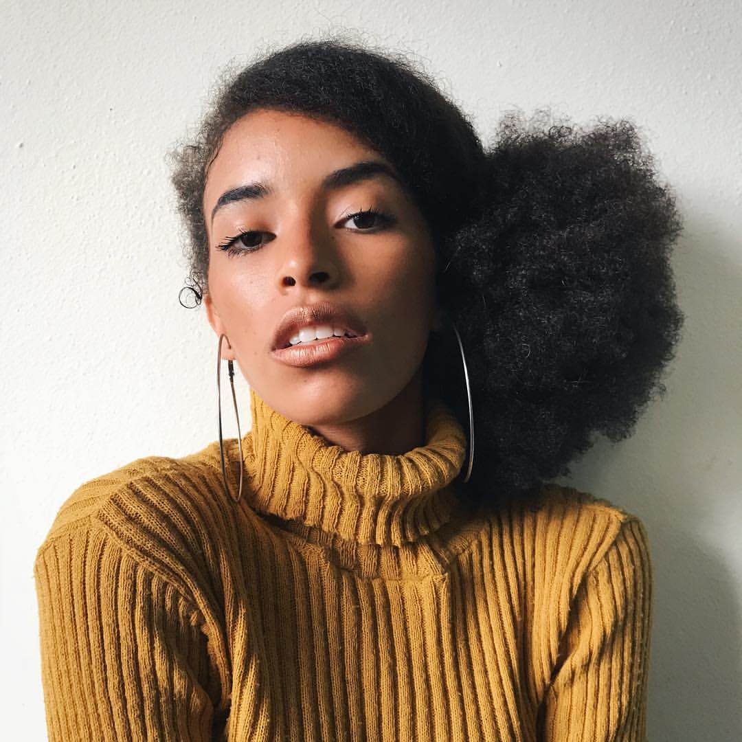 black girls, afro puff, afro hairstyles and curly hair