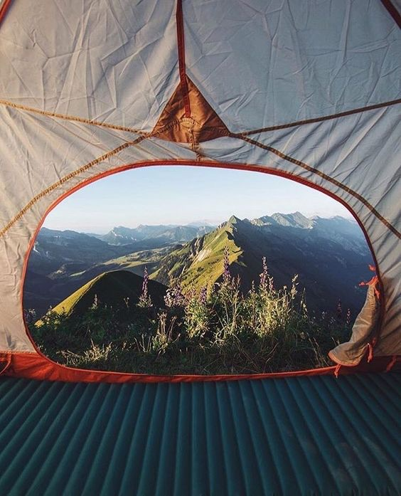 adventure, camping, couple and escape