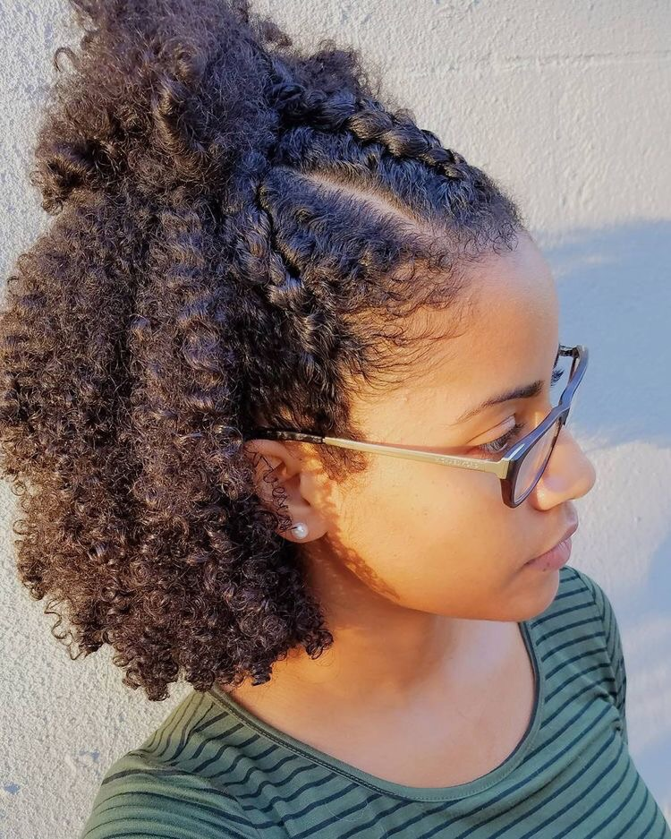 Afro, looks, straight and edges