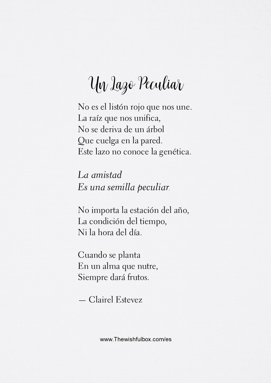 cosas bonitas, clairel estevez, frases and poema