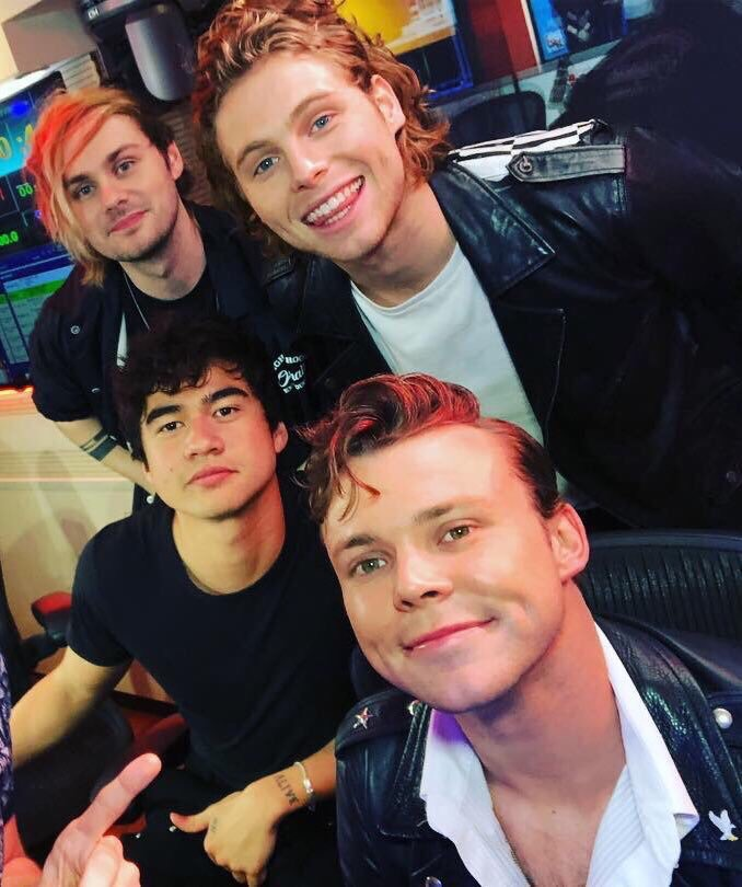 picture, 5 seconds of summer, 5sos and band